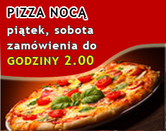 Pizza nocą